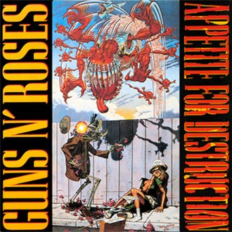 Appetite for Destruction - Image: Appetitefordestructi on