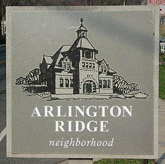 Arlington Ridge, Virginia - Arlington Ridge Community Sign