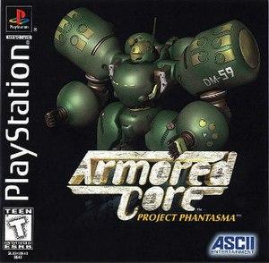 Armored Core: Project Phantasma - Image: Armored Core Project Phantasma