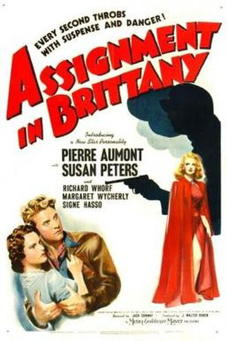 Assignment in Brittany - Theatrical poster