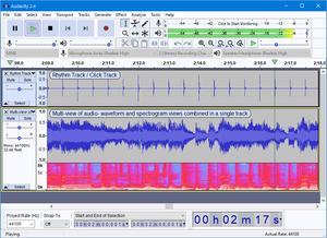 audacity the free cross platform sound editor