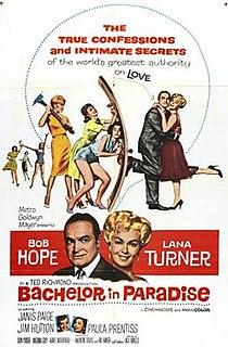 <i>Bachelor in Paradise</i> (film) 1961 film