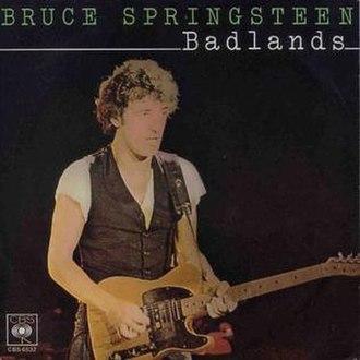 Badlands (Bruce Springsteen song) - Image: Badlands Springsteen