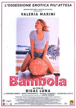 Bambola - Italian theatrical release poster