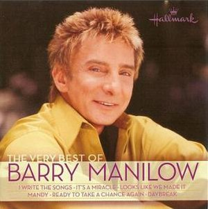 The Very Best of Barry Manilow - Image: Barry hallmark very best