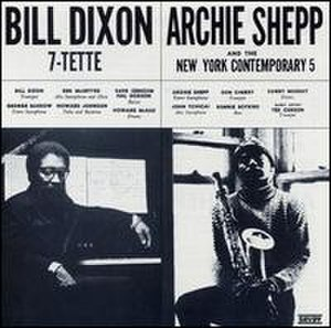 Bill Dixon 7-tette/Archie Shepp and the New York Contemporary 5 - Image: Bill Dixon Archie Shepp