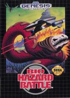 <i>Bio-Hazard Battle</i> 1992 video game