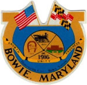 Bowie, Maryland - Image: Bowie md seal of the city