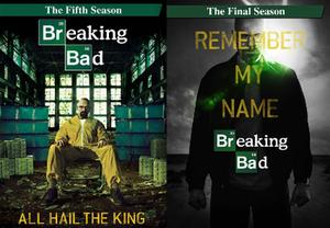 Breaking Bad (season 5) - Image: Breaking Bad season five part i and ii dvd