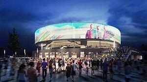 Bristol Arena - Image: Bristol Arena design