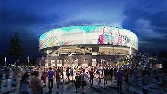 Bristol Arena - Artist's impression of Bristol Arena