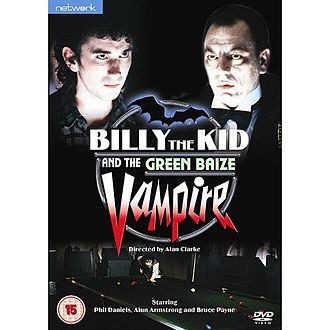Billy the Kid and the Green Baize Vampire - DVD cover