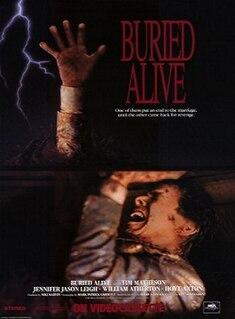 <i>Buried Alive</i> (1990 TV film) 1990 American made-for-television horror thriller film directed by Frank Darabont