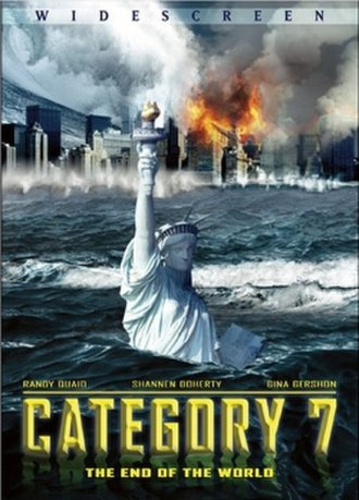 Category 7: The End of the World - Cover of the DVD release of Category 7