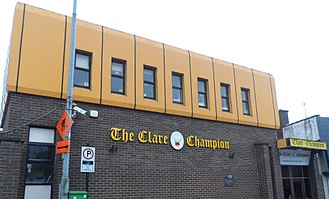 The Clare Champion - The Clare Champion office in Ennis