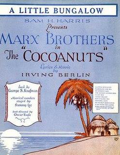 <i>The Cocoanuts</i> (musical)