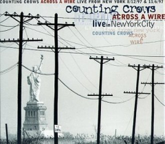 Across a Wire: Live in New York City - Image: Counting Crows Acrossa Wire