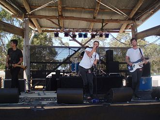 Cut Off Your Hands - Cut Off Your Hands performing at Falls Festival, 2007