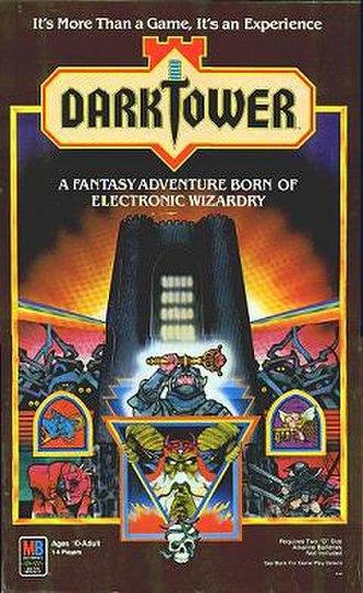 Dark Tower (game) - Dark Tower box