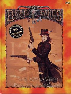 Deadlands role-playing game