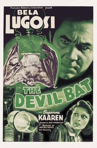 The Devil Bat - Image: Devilbatposter