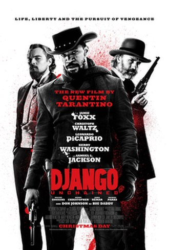 Django Unchained - Theatrical release poster