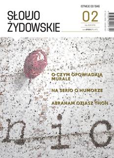 <i>The Jewish Word</i> Polish-Jewish magazine published in Warsaw