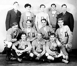 DePaul University - DePaul University's basketball team (1908)