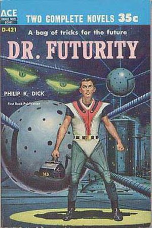 Dr. Futurity - Cover of first edition (paperback)