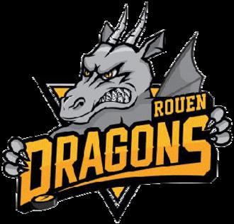 Dragons de Rouen - Image: Dragons de Rouen logo