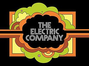 The Electric Company - The series title card.