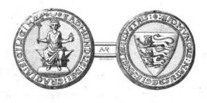 Edmund Crouchback - Image: Edmund Sicily seal