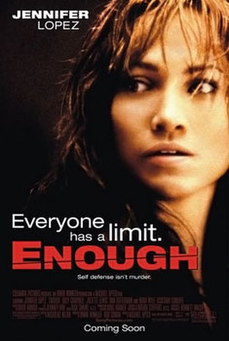 Enough (film) - Theatrical release poster