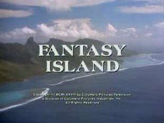 Fantasy Island - Title card of the first installment of Fantasy Island