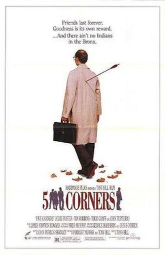 Five Corners (film) - Theatrical release poster