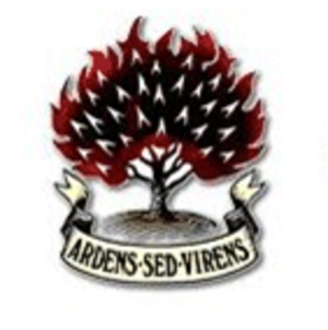 Free Presbyterian Church of Ulster - Burning bush logo and motto