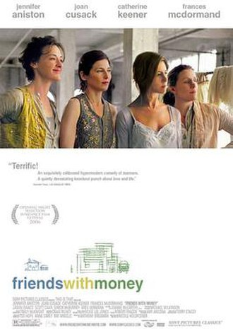 Friends with Money - Theatrical release poster