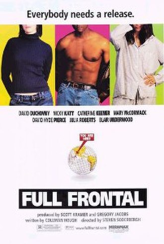 Full Frontal (film) - Theatrical release poster