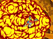 Computer generated explosion in Futurama