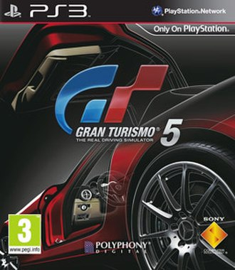 Gran Turismo 5 - European box art