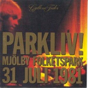 Parkliv! - Image: GT parkliv cd cover