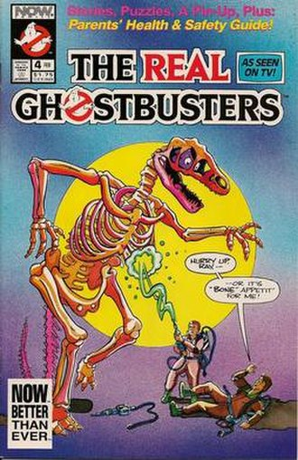Ghostbusters (comics) - Image: Gbvol 2