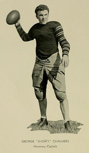 George V. Chalmers - Chalmers at Maryland in 1931