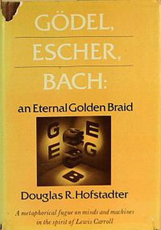 Gödel, Escher, Bach - Cover of the first edition