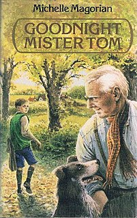 <i>Goodnight Mister Tom</i> book by Michelle Magorian