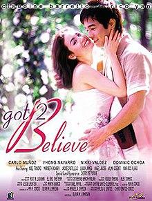 Mga resulta ng larawan para sa Got 2 Believe official movie poster