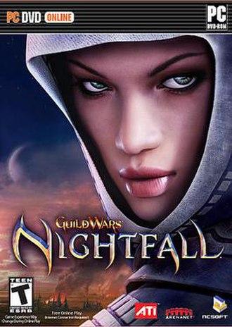 Guild Wars Nightfall - Image: Guildwarsnightfallbo x