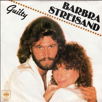 Guilty (Barbra Streisand and Barry Gibb song) - Image: Guilty (single cover)