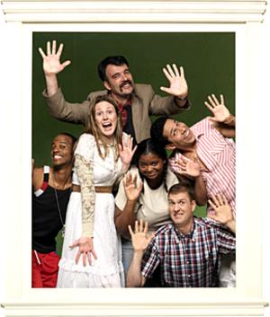Halfway Home (TV series) - The cast of Halfway Home. Counterclockwise: Kevin Ruf, Jordan Black, Jessica Makinson, Octavia Spencer, Regan Burns, and Oscar Nunez