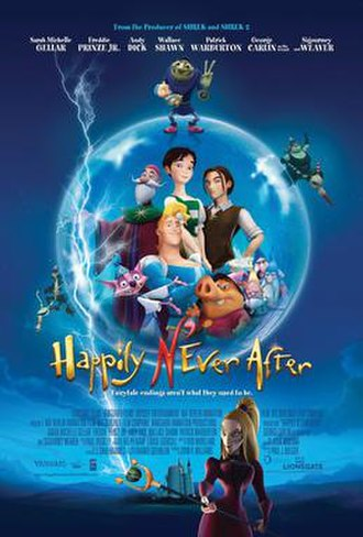 Happily N'Ever After - Theatrical release poster